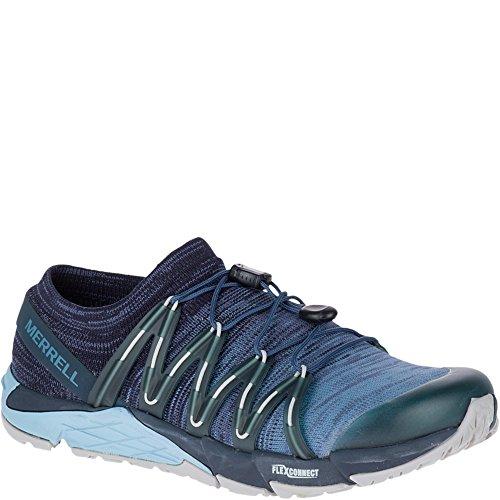 Merrell Bare Access Flex Knit Women Running Shoes 9.5 US Dark Navy