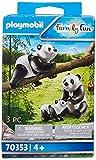 Pandas con Bebé