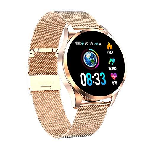 HHRONG Ip67 Smartwatch Aktivitätsmonitor für Damen, Herren, Schrittzähler, Kalorienzähler, kompatibel mit iOS Android