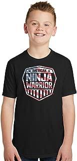 american ninja warrior t shirt youth