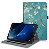 Fintie Case for Samsung Galaxy Tab A 10.1 (2016 NO S Pen Version), [Corner Protection] Multi-Angle Viewing Stand Cover with Pocket Auto Sleep/Wake for Tab A 10.1 (SM-T580/T585/T587), Blossom