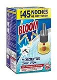 Bloom Insecticida Eléctrico Líquido, Mosquitos Común y Tigre, 18ml