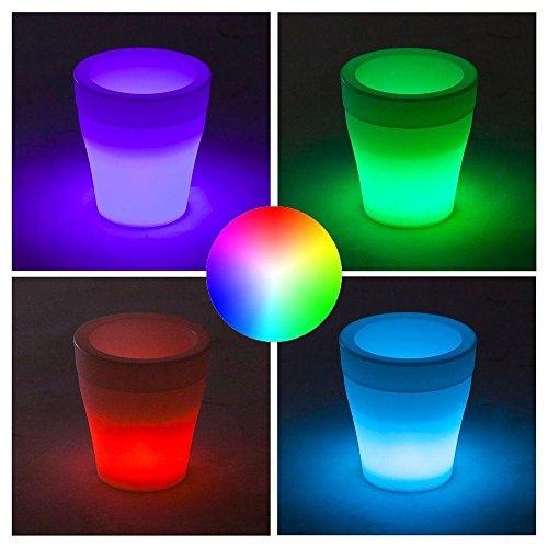 jbboutique.com Pot Lumineux LED pour Plante