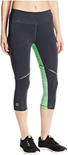 tasc performance Women's Surprise Stripe Performance Yoga Running Fitness Capri Tight