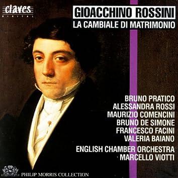 Rossini: La cambiale di matrimonio, Early One-Act Operas, Vol. 2/5