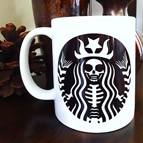 HALLOWEEN Coffee Mugs Funny Coffee Mugs Mermaid coffee mug. Coffee Mug Halloween - 11oz