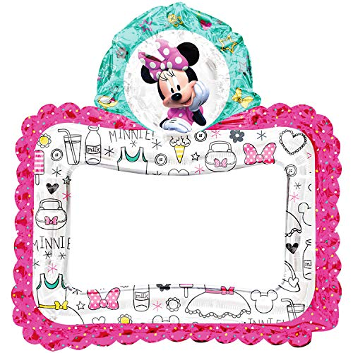 Anagram International, Inc. 92041 Minnie Happy Helpers Selfie Frame - Consumer Inflated Party Ballon, folie, Multi kleuren