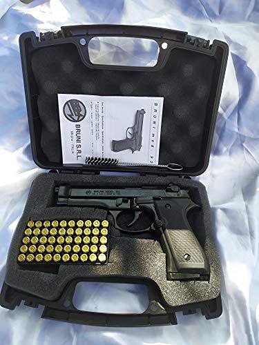 MKT Pistola a Salve Beretta 92 Cal. 8 con Valigetta PRO con 50 Colpi Fiocchi