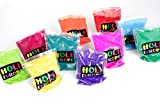 2 x Holi Pulver - Gulal - Festival Farbbeutel - Fotoshooting - 10 Farben