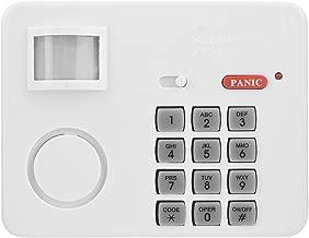 105DB Password Wireless Home Security Emergency Keypad Alarm Siren, Zerone 105° Alarm PIR Motion Sensor Detectors Door Window Home Security System