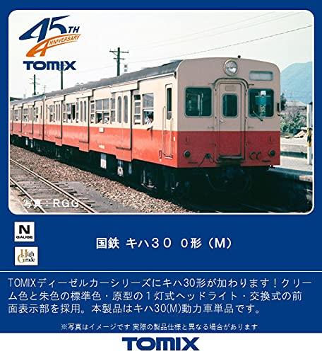 TOMIX Nゲージ 国鉄 キハ30 0形 M 9456 鉄道模型 ディーゼルカー