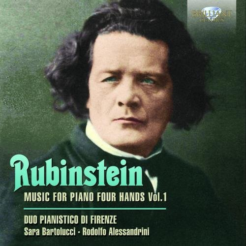 Rubinstein: Music for Piano Four Hands, Vol. 1 by Duo Pianistico di Forenze (2013-08-03)