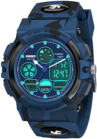 SOKY Watches for Kids 5 16 Boys Sports Digital Watch Waterproof Wrist Watches Outside Toys Kids product image