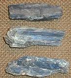 Cianita cristal azul Irregular natural Hoja 50-60mm
