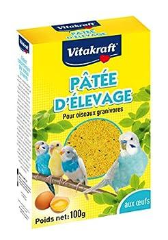 Vitakraft - Pâtée d'élevage aux œufs - 100G