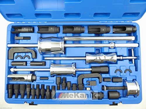 Diesel Einspritzdüsen-Abzieher, Meister-Werkzeugset, Bosch, Denso, Siemens, Delphi, 40 Stück
