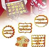 Stampi per biscotti con buon auspico,Stampo per biscotti al cioccolato,Stampo per biscotti fai da te,Stampi per biscotti,Stampo per pasticceria per dolci e cioccolatini