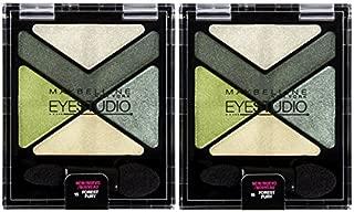 MAYBELLINE EyeStudio Color Explosion Luminizing Eyeshadow FOREST FURY #15 (PACK OF 2)