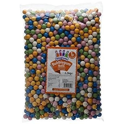 kingsway bubble-gum balls bag, 2.5 kg Kingsway Bubble-Gum Balls Bag, 2.5 kg 516QFI8TbhL