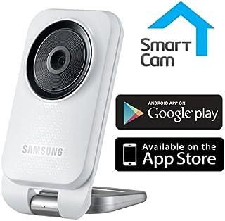 Samsung SNH-V6110BN SmartCam HD 1080p Mini cámara de Interior Bidireccional Talk Motion Detección de Audio WiFi Smartcam App para bebés/Ancianos monitorización General y de Seguridad