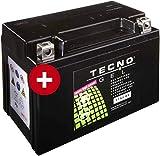YTX9-BS TECNO GEL-Batterie für ZX-9R 900 E Ninja Baujahr 2000-2001
