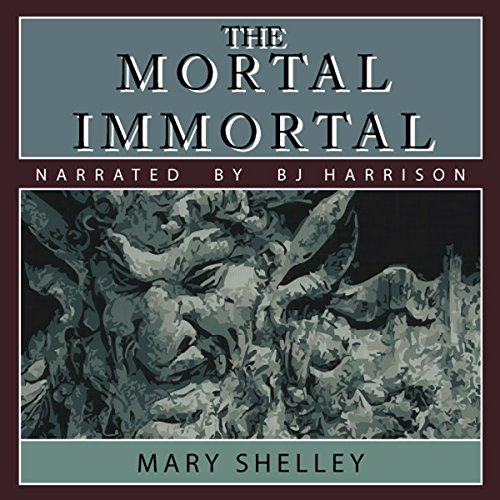 The Mortal Immortal audiobook cover art