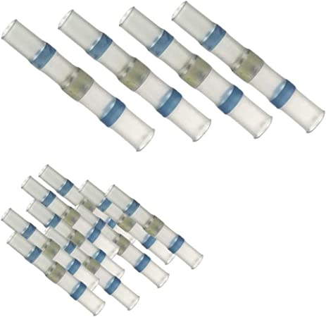 10 100 Lötverbinder Blau Ø 5 Mm 1 0 2 5 Mm Auswahl 10 Stück Auto
