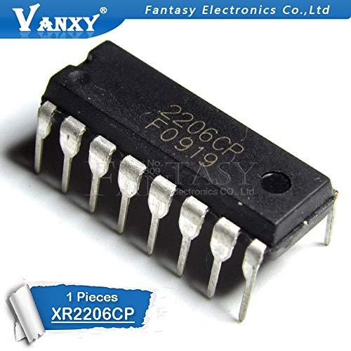 1 STÜCKE XR2206CP DIP16 XR2206 DIP 2206CP DIP-16 neue und original IC