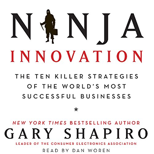 Ninja Innovation audiobook cover art