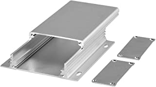 Eightwood Aluminum Electronic PCB Project Box Enclosure Case DIY - 4.33 x 2.44 x 0.98 (LengthWidthHeight) Smooth Top Strip...