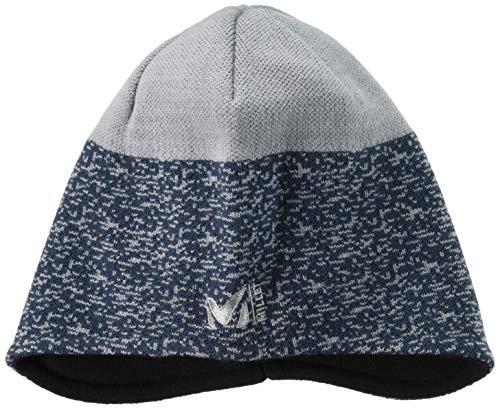 Millet - Tyak Ear Flap - Bonnet Mixte en Laine Mérinos - Alpinisme, Randonnée, Trekking - Bleu/Gris
