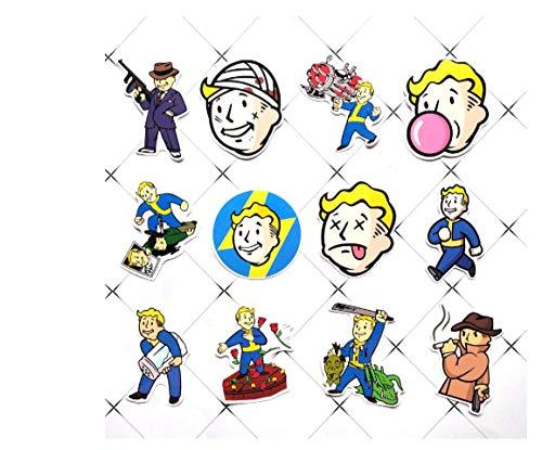 votgl 29st Fallout Game Sticker voor bagage skateboard telefoon laptop moto fiets muur gitaar waterdichte PVC sticker
