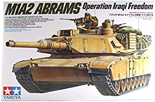 Assembly Tank Model Kit M1A2 Abrams 35629 - Scale 1/35