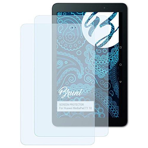 Schutzfolie kompatibel mit Huawei MediaPad T1 10 Folie, glasklare Displayschutzfolie (2X)
