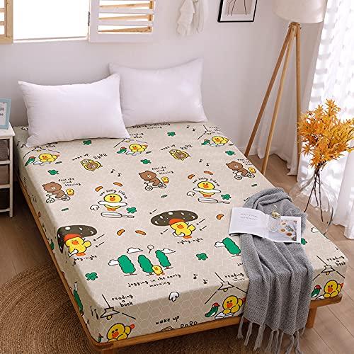 Haiba - Lenzuola di lusso 88 x 168 cm, 15 cm, in cotone con angoli elasticizzati, per letto singolo, in morbido rasatello