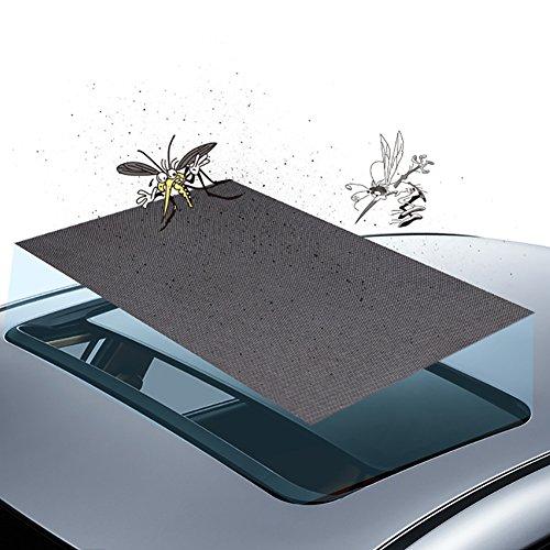 HSXQQL Auto-Schiebedach Sonnenschutz, Skylight Blinde Shading Net Sonnenschutz-Vorhang, Panorama-Schiebedach Sonnenschutz Schiebedach Mosquito-Netz für Anti-Bugs Block Der UV Tragbarer