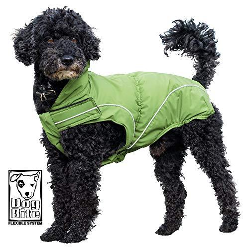 DogBite Regenjacke, Farbe: Grün 35 cm