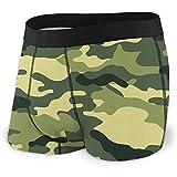 Web--ster Military Camo Woodland Camoflage Men 'S Boxershorts Stretch Bequeme atmungsaktive Unterwäsche