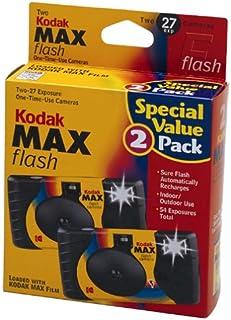 2 كاميرا كوداك ماكس 35 مم للاستخدام مرة واحدة مع فلاش
