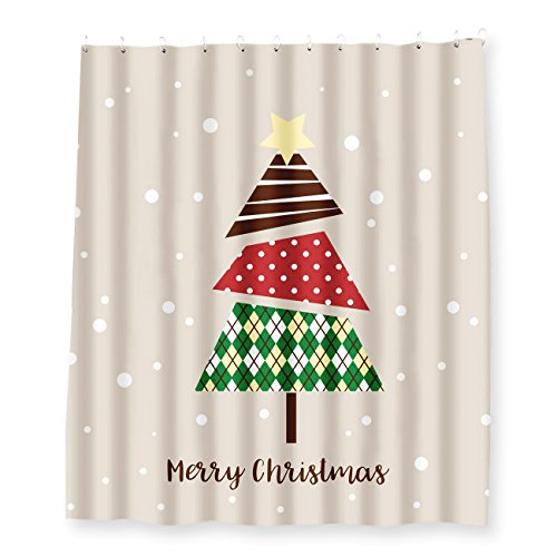 cortina navidad fabricante Juvale