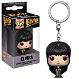 Funko Pop Keychain: Horror - Elvira Collectible Figure, Multicolor