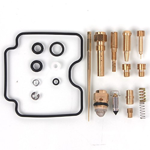Wingsmoto Carb Rebuild Kit Repair Compatible with Grizzly 660 4x4 2002 2003 2004 2005 YFM660FW