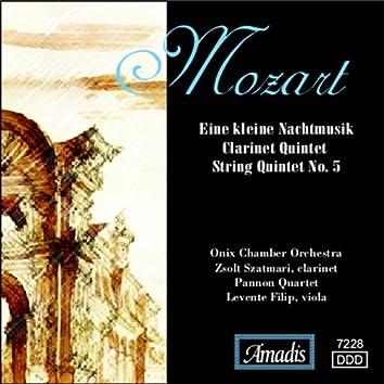 Mozart: Eine Kleine Nachtmusik / Clarinet Quintet / String Quintet No. 5