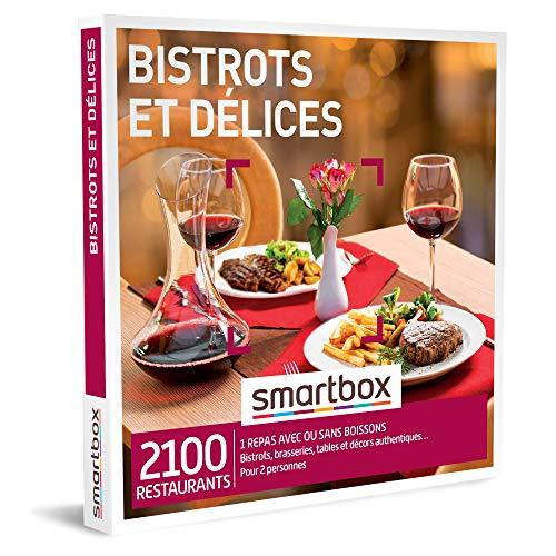 Coffret Smartbox Bistrots et délices