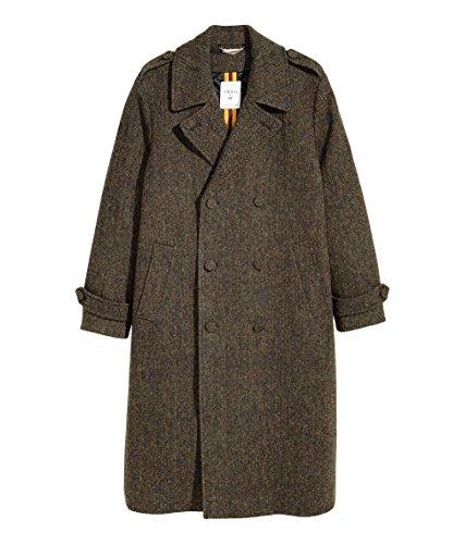 ERDEM x H&M, Cappotto in Tweed da Uomo, Edizione Limitata (Uomo 48 EU)