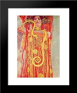 University of Vienna Ceiling Paintings (Medicine), Detail Showing Hygieia 20x24 Framed Art Print by Gustav Klimt