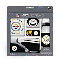 Baby Fanatic 5 Piece Gift Set, Pittsburgh Steelers by Baby Fanatic