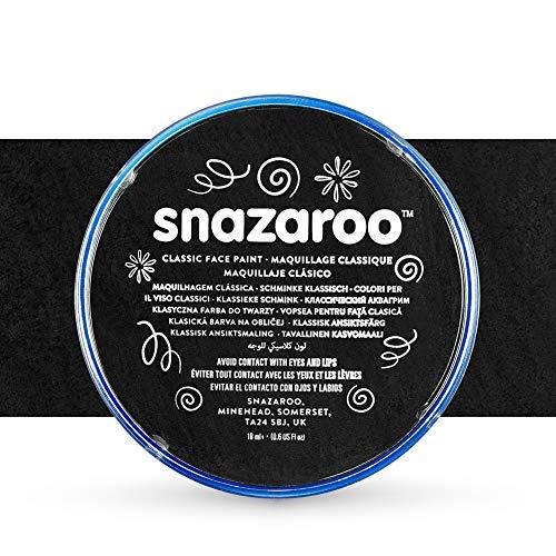 Snazaroo Peinture pour visage Individual Classic Colours 18ml Noir