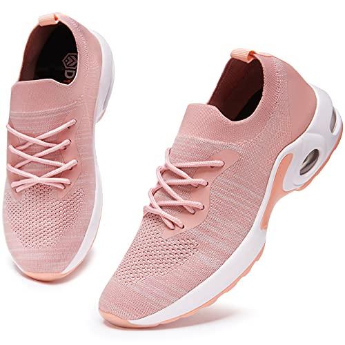 DYKHMATE Zapatillas de Deporte Mujer Air Running Zapatos para Correr Gimnasio Ligero Sneakers Deportivas