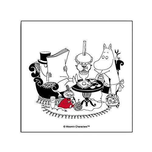 【正規輸入(スウェーデン)】Opto design (オプトデザイン) ムーミン ペーパーナプキン パパリーディング OPT080003